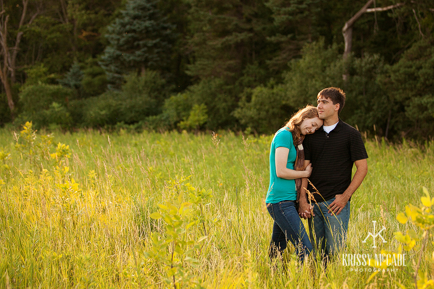 Amanda and Jeffrey- Engaged!  {Sioux City, IA Photographer}